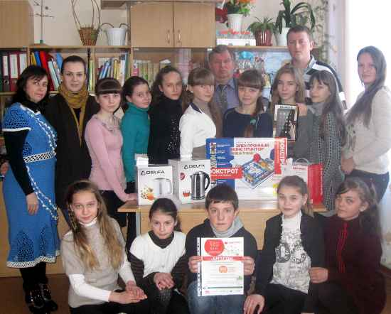 Колектив переможцівЛисогірської ЗОШ