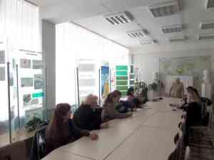 Знайомство з еколого-біосферним музеєм на кафедрі екології та охорони навколишнього середовища ДДАЕУ.