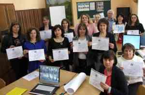 Учасники тренінгу отримали сертифікати вчителя GLOBE