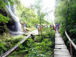 Табір у Маліївцях (біля водопаду)