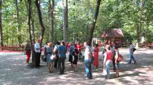У зоні відпочинку Кам'янківського лісництва
